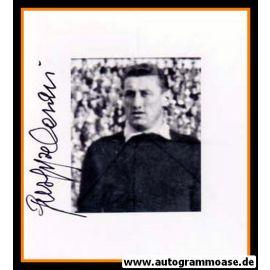 Autogramm Fussball | Italien | 1950er Foto | Giuseppe CASARI (Portrait SW) 2