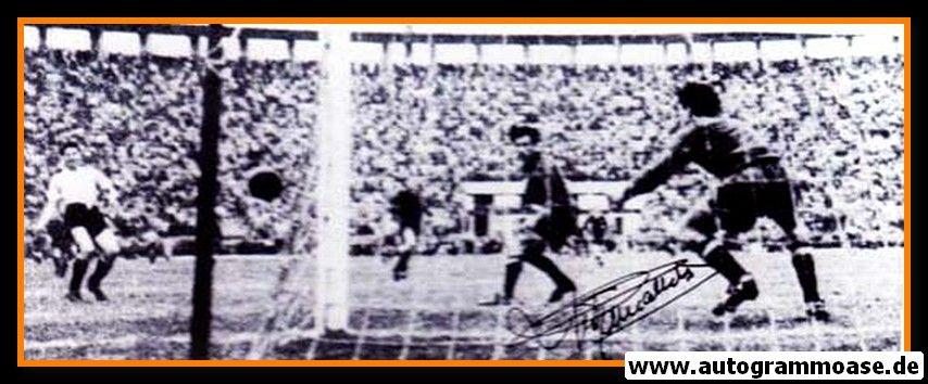 Autogramm Fussball   Spanien   1950 WM Foto   Antoni RAMALLETS (Spielszene SW)