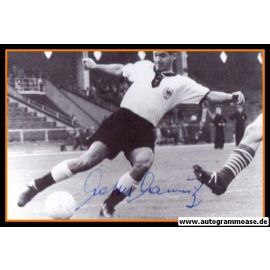 Autogramm Fussball   DFB   1950er Retro   Matthias MAURITZ (Spielszene SW)