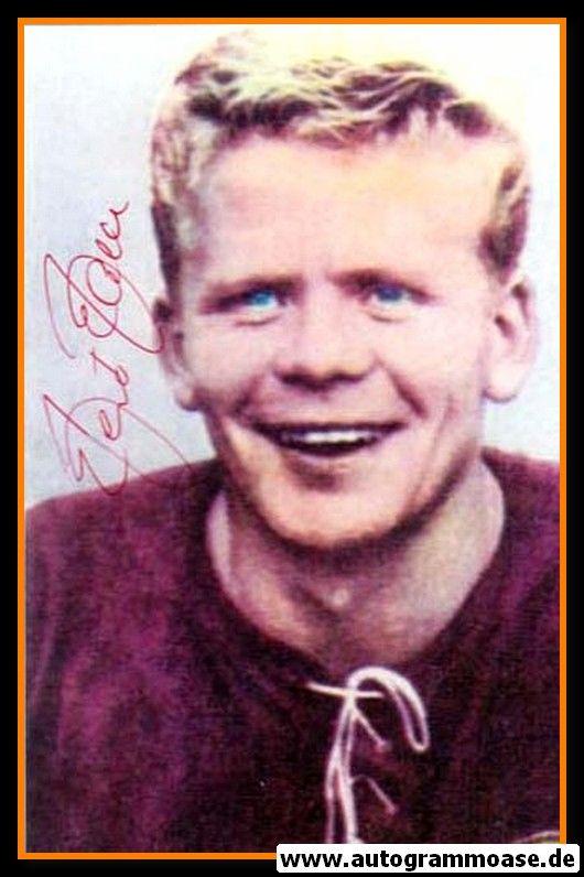 Autogramm Fussball   DFB   1960er Foto   Helmut HALLER (Portrait Color) 1
