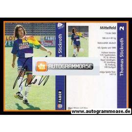 Autogramm Fussball | VfL Bochum | 1997 | Thomas STICKROTH