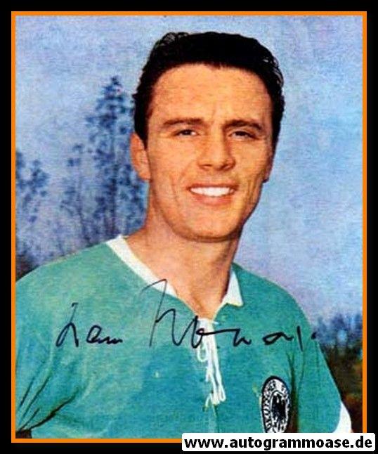 Autogramm Fussball   DFB   1960er Foto   Hans NOWAK (Portrait Color)