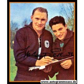 Autogramm Fussball | DFB | 1960er Foto | Herbert ERHARDT (Portrait Color Harpers)