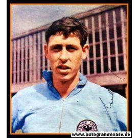 Autogramm Fussball | DFB | 1960er Foto | Jürgen KURBJUHN (Portrait Color)