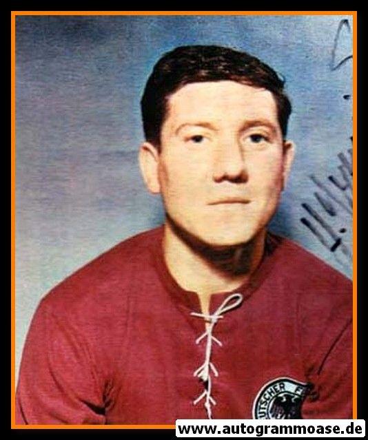 Autogramm Fussball | DFB | 1960er Foto | Horst SZYMANIAK (Portrait Color)