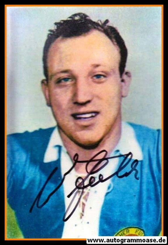 Autogramm Fussball | DFB | 1962 WM Foto | Uwe SEELER (Portrait Color)