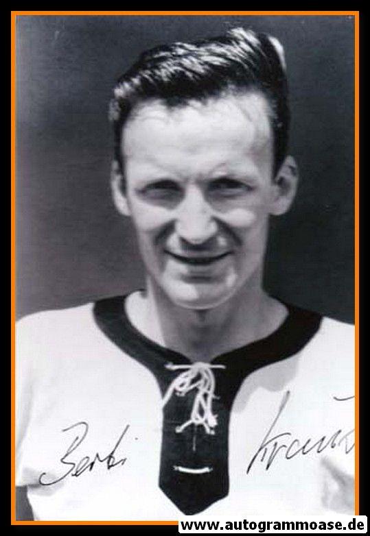 Autogramm Fussball | DFB | 1962 WM Foto | Berti KRAUS (Portrait SW)