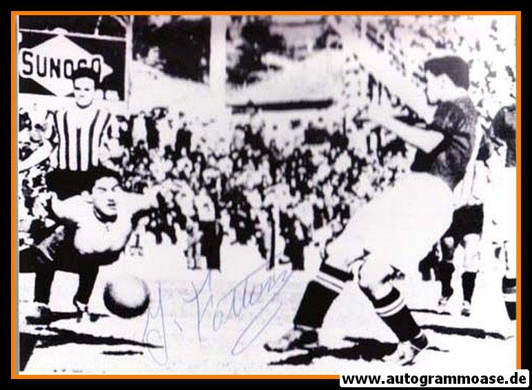 Autogramm Fussball   Schweiz   1950 WM Foto   Jacques FATTON (Spielszene Brasilien)