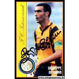 Autogramm Fussball | Inter Mailand | 1980er | Giuseppe BERGOMI (Spielszene Color) 1