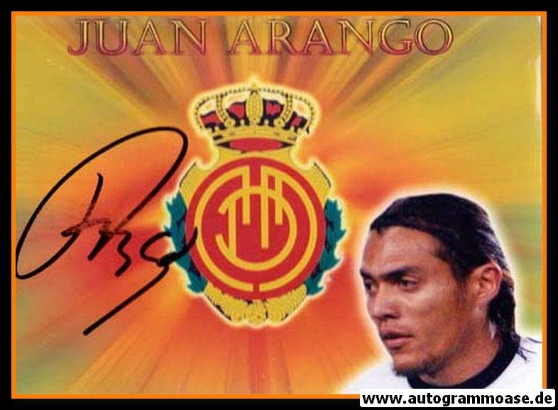 Autogramm Fussball   RCD Mallorca   2008 Foto   Juan ARANGO (Portrait Color)