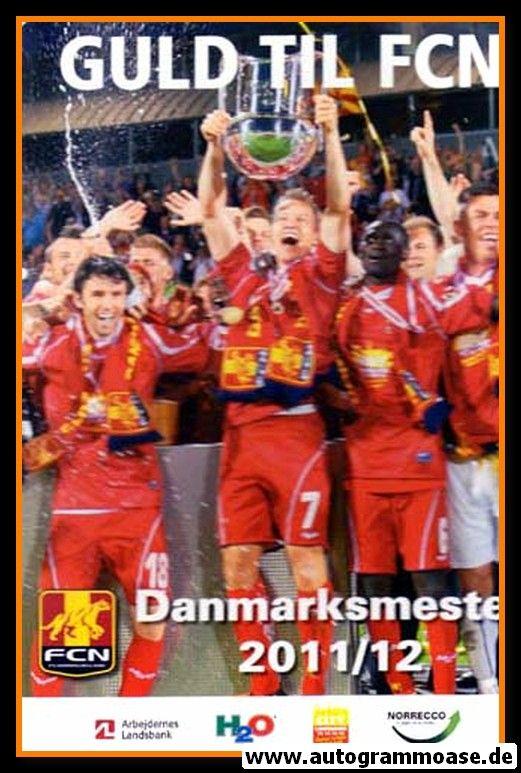 Autogramm Fussball   FC Nordsjaelland   2011   Thomas VILLADSEN