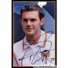 Autogramm Fussball | FC Valencia | 2009 Foto | Juan MATA (Portrait Color)
