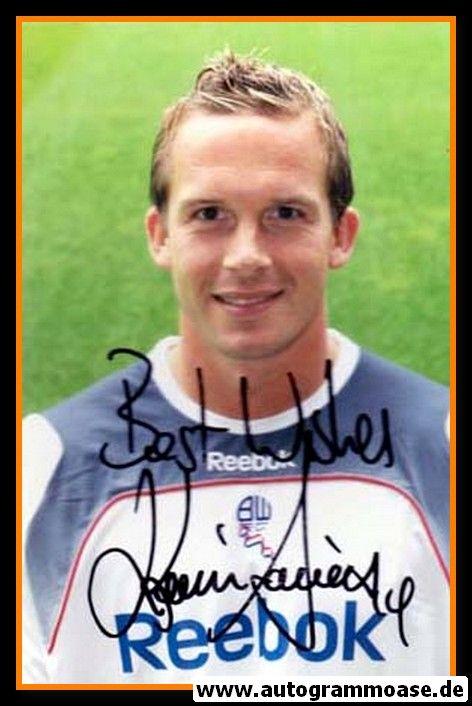 Autogramm Fussball | Bolton Wanderers | 2009 Foto | Kevin DAVIES (Portrait Color)