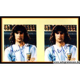 Autogramm Fussball | Argentinien | 1970er Foto | Mario KEMPES (Portrait Color)