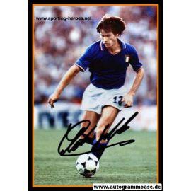 Autogramm Fussball | Italien | 1980er Foto | Gabriele ORIALI (Spielszene Color)