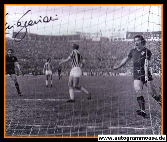 Autogramm Fussball   FC Turin   1970er Foto   Francesco GRAZIANI (Spielszene SW)