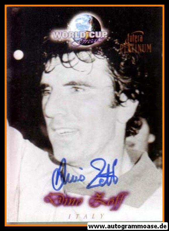 Autogramm Fussball | Italien | 1980er Foto | Dino ZOFF (Portrait SW Futera)