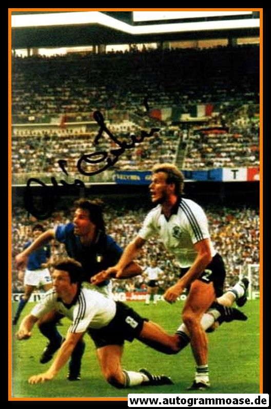 Autogramm Fussball   Italien   1982 WM Foto   Antonio CABRINI (Spielszene DFB)