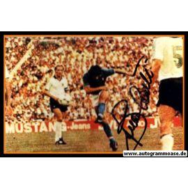 Autogramm Fussball   Italien   1980er Foto   Bruno CONTI (Spielszene Color DFB)