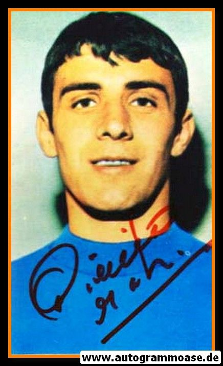Autogramm Fussball | Italien | 1970 WM Foto | Pierino PRATI (Portrait Color)