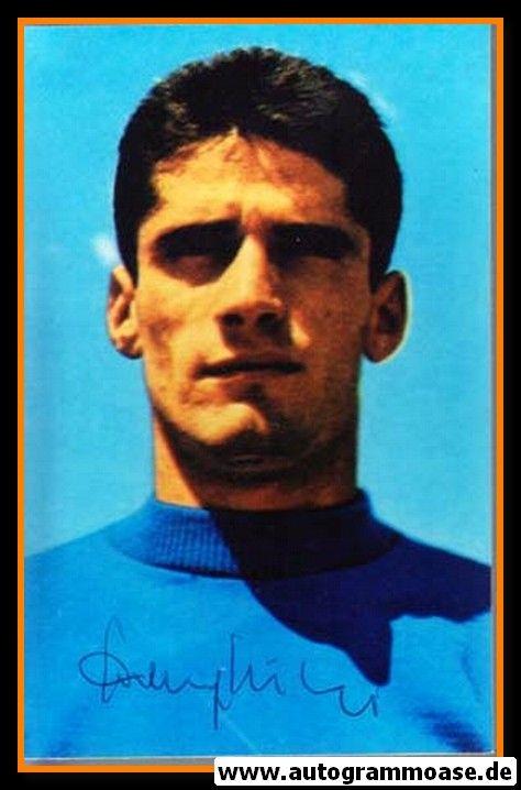 Autogramm Fussball | Italien | 1970 WM Foto | Angelo DOMENGHINI (Portrait Color)