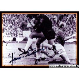 Autogramm Fussball | DFB | 1960er Foto | Hans TILKOWSKI (Spielszene SW)
