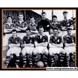 Mannschaftsfoto Fussball   Leeds United   1955 + AG Jack CHARLTON (2)