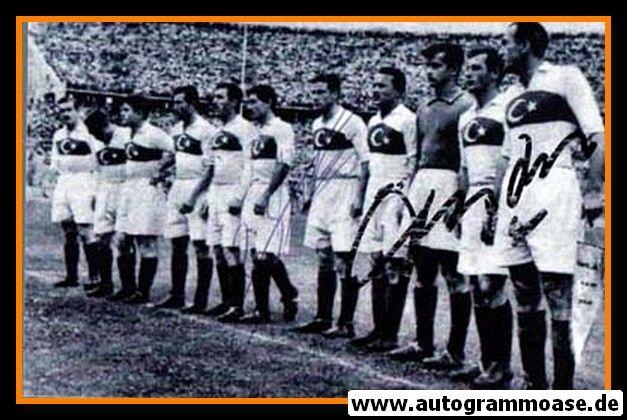 Mannschaftsfoto Fussball | Türkei | 1951 + 2 AG (Kücükandonyadis, Seren) DFB