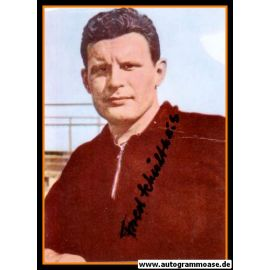 Autogramm Fussball | Kickers Offenbach | 1950er Foto | Alfred SCHULTHEIS (Portrait Color)