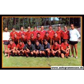 Mannschaftsfoto Fussball   1. FC Nürnberg   1968 + 3 AG