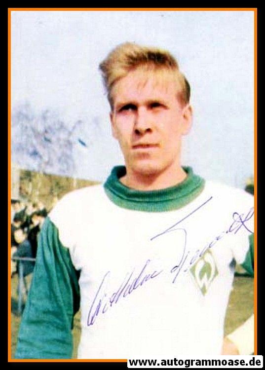 Autogramm Fussball | SV Werder Bremen | 1960er Foto | Diethelm FERNER (Portrait Color)