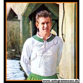Autogramm Fussball   SV Werder Bremen   1960er Foto   Gerhard ZEBROWSKI (Portrait Color)