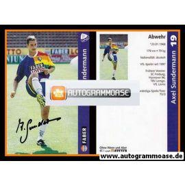Autogramm Fussball | VfL Bochum | 1997 | Axel SUNDERMANN
