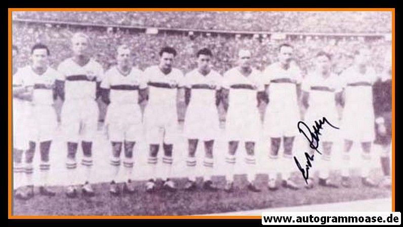 Mannschaftsfoto Fussball | VfB Stuttgart | 1950 + AG Erich RETTER