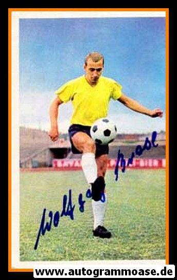 Autogramm Fussball | Eintracht Braunschweig | 1966 | Wolfgang BRASE (Bergmann 210)