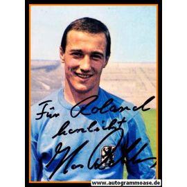Autogramm Fussball | TSV 1860 München | 1960er Foto | Hans REBELE (Portrait Color)