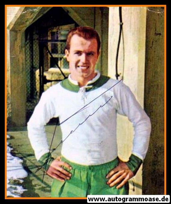 Autogramm Fussball | SV Werder Bremen | 1960er Foto | Helmut SCHIMECZEK (Portrait Color) 1