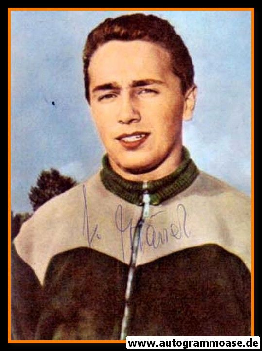 Autogramm Fussball   SV Werder Bremen   1960er Foto   Klaus HÄNEL (Portrait Color)