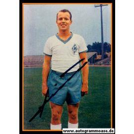 Autogramm Fussball   SV Werder Bremen   1965 Foto   Helmut SCHIMECZEK (Portrait Color)