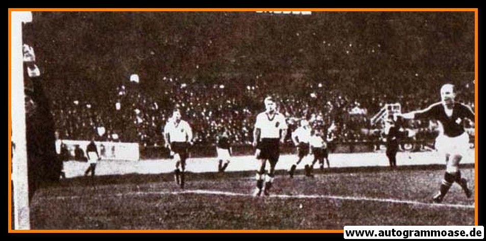 Autogramm Fussball   Schweiz   1938 WM Foto   Paul AEBI (Spielszene DFB SW) 1