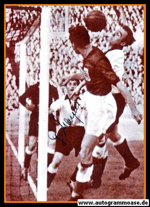 Autogramm Fussball | DFB | 1954 Foto | Gerd HARPERS (Spielszene SW England)