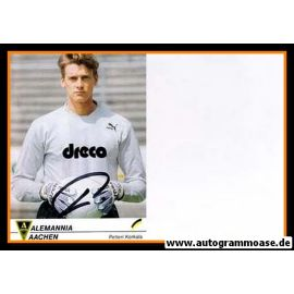 Autogramm Fussball | Alemannia Aachen | 1990 | Petteri KORKALA