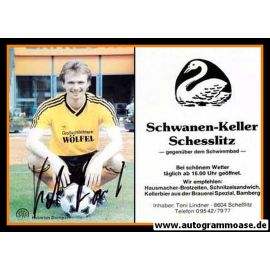 Autogramm Fussball | SpVgg Bayreuth | 1989 | Heinrich DUMPERT