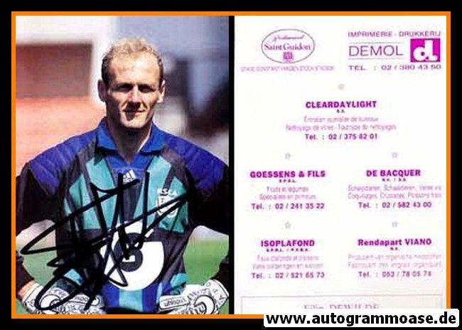 Autogramm Fussball | RSC Anderlecht | 1980er | Filip DE WILDE