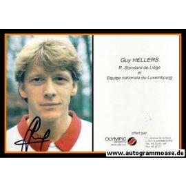 Autogramm Fussball   Standard Lüttich   1990er   Guy HELLERS