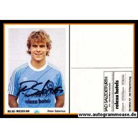 Autogramm Fussball | Blau-Weiss 90 Berlin | 1984 | Peter SATERNUS
