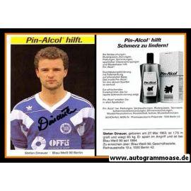 Autogramm Fussball   Blau-Weiss 90 Berlin   1990   Stefan DINAUER