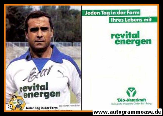 Autogramm Fussball   Hertha BSC Berlin   1984   Hans EDER