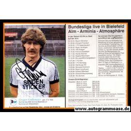 Autogramm Fussball | DSC Arminia Bielefeld | 1983 | Gregor GRILLEMEIER