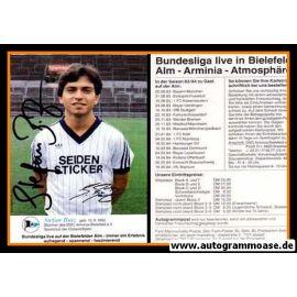 Autogramm Fussball   DSC Arminia Bielefeld   1983   Stefan BUTZ